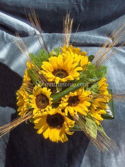 Fiori Matrimonio Girasoli : Le fate dei fiori