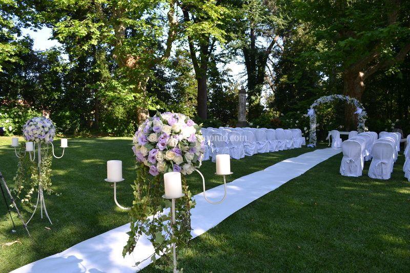 Cerimonie in villa