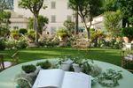 Il giardino esempio di allestimento di Villa del Lupo