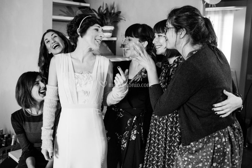 La sposa e le amiche