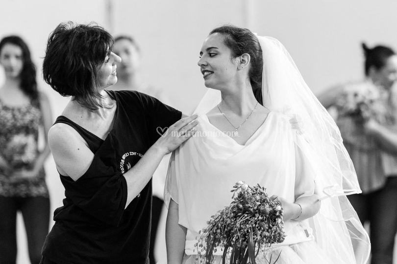 Corso di portamento sposa