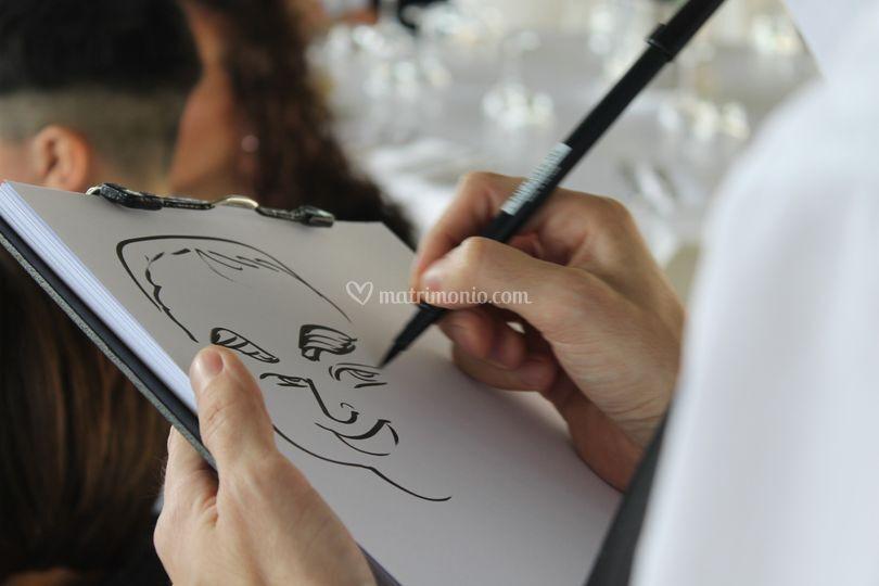 Marco Battipaglia Ritratti e Caricature