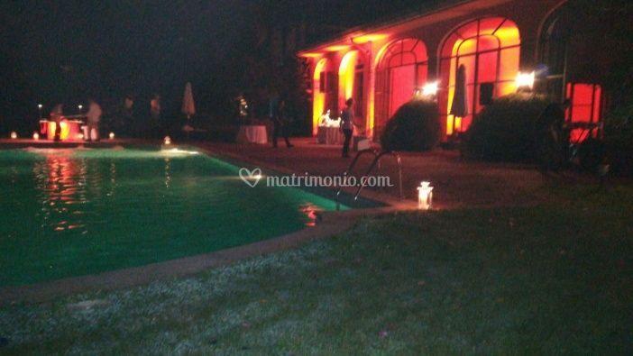 Esterno Villa in notturna