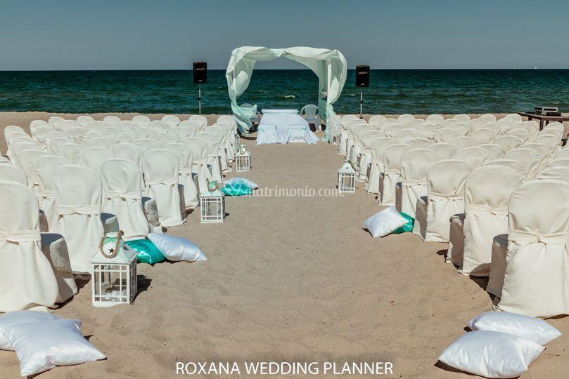 Wedding on the beach Tiffany