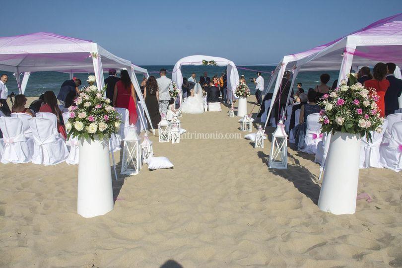 Wedding on the beach  2016