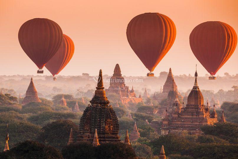 Esplora la Birmania