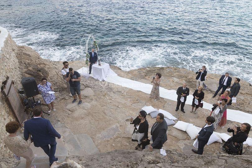Matrimonio In Spiaggia Lampedusa : Vista mare di wedding in lampedusa di lorena lombardo foto
