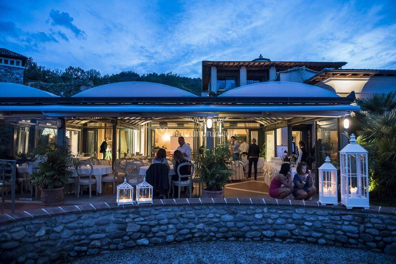 Il ristorante Relais Mirabella