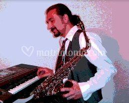 Sax e tastiera