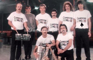 Con la band