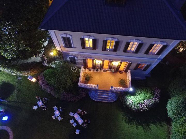 Villa Umberto di notte