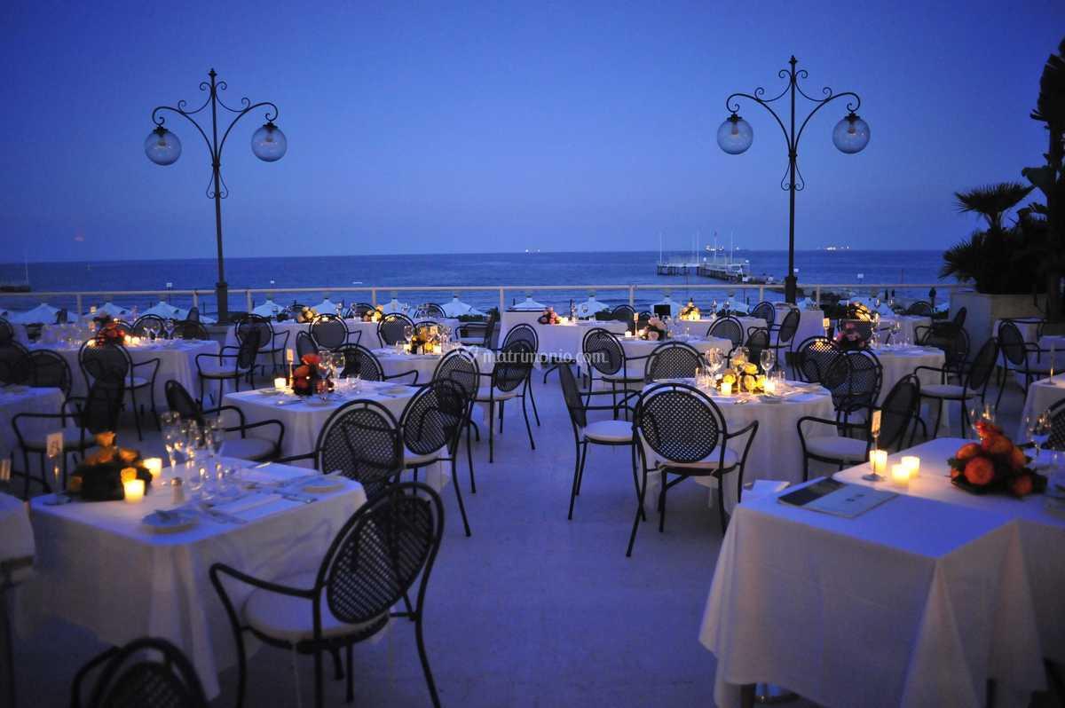 Terrazza Ristorante Di Hotel Excelsior Venezia Lido Foto 6