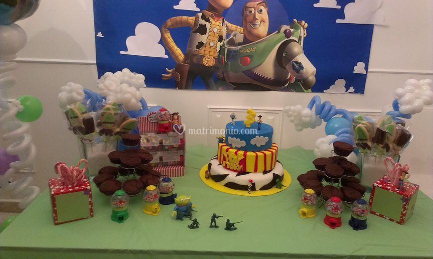 "Festa di compleanno ""Toy Story"