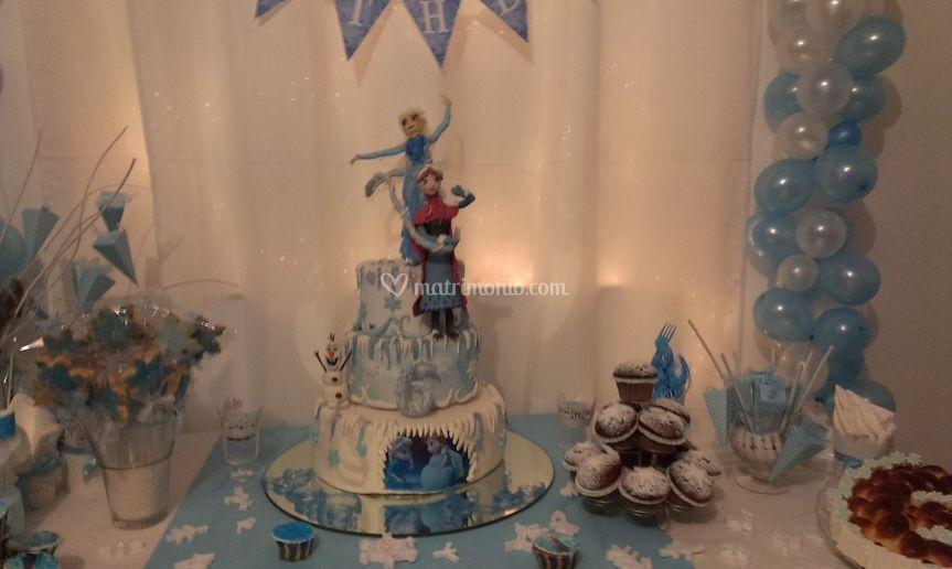 """Festa di compleanno """"Frozen"""""""