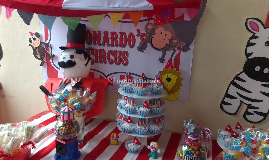 """Festa di compleanno """"Circo"""""""