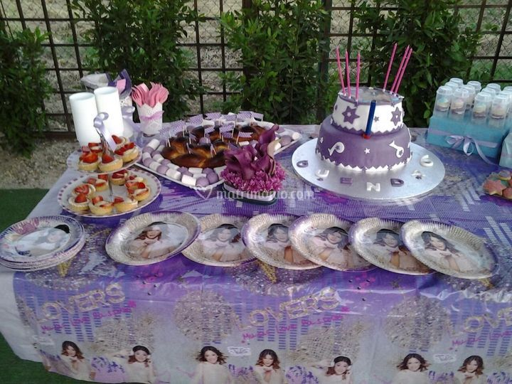 """Festa di compleanno """"Violetta"""""""