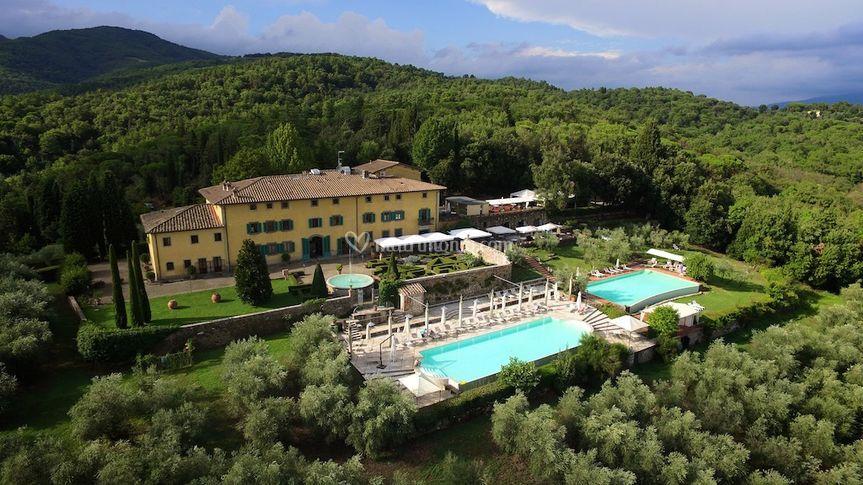 Villa la palagina - Piscina figline valdarno ...
