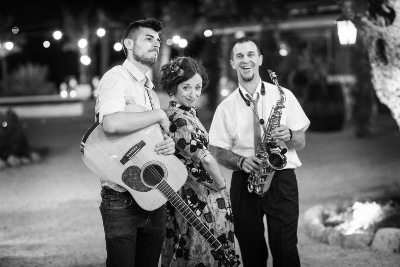 Trio Voce, Chiatarra e Sax