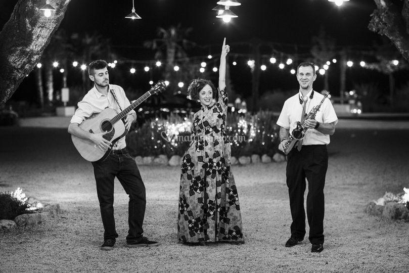 Trio Voce Sax e Chitarra
