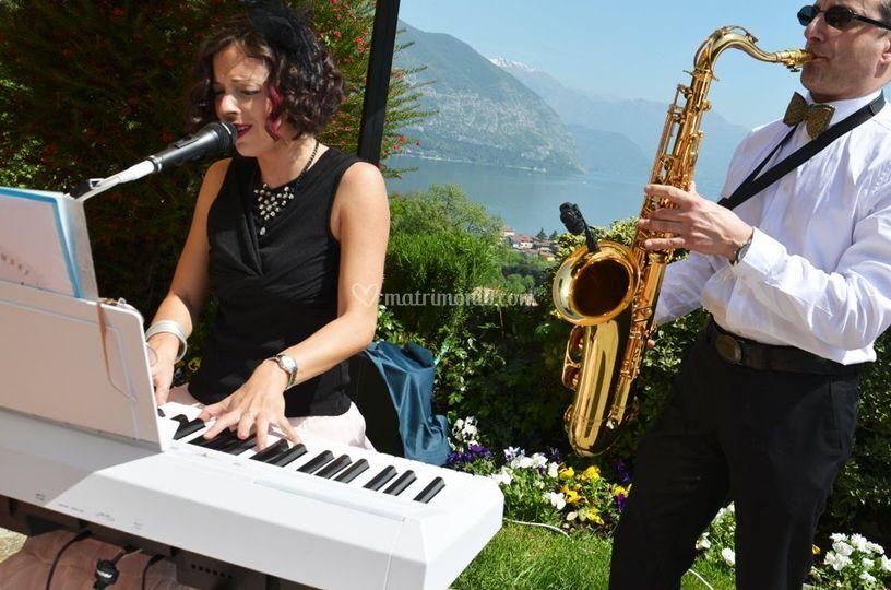 Duo piano, voce e sax