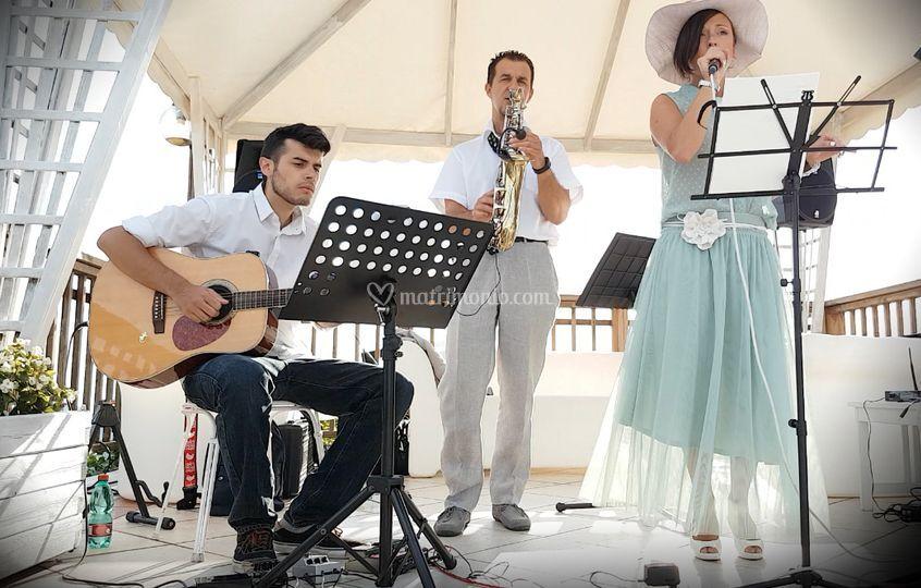 Trio Voce Sax Chitarra