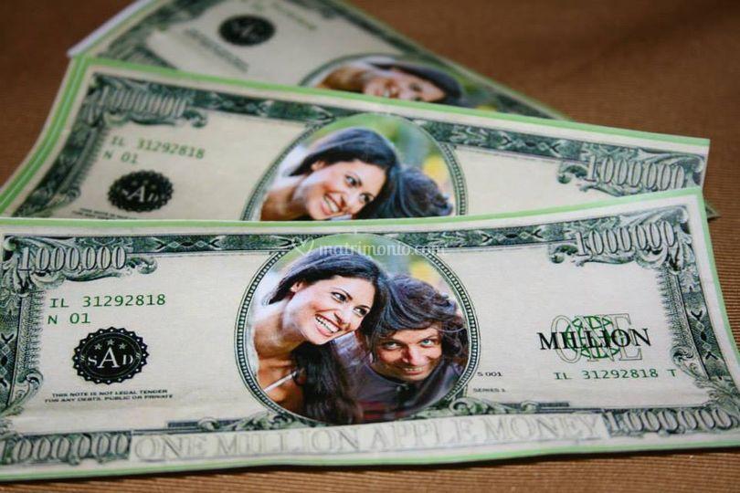 Banconote personalizzate