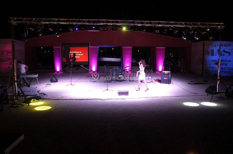 Illuminazione per eventi di lux eventi service foto