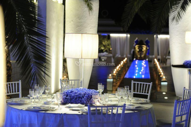 Matrimonio Tema Giardino Zen : Villa carafa