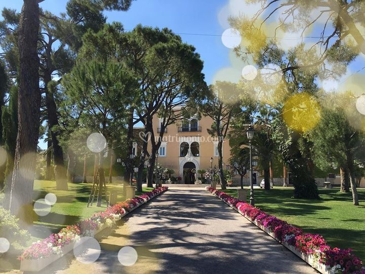 Spring time in Villa Carafa
