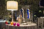 Tavolo sposi giardino zen