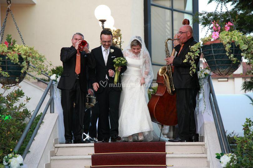 Accoglienza con gli sposi