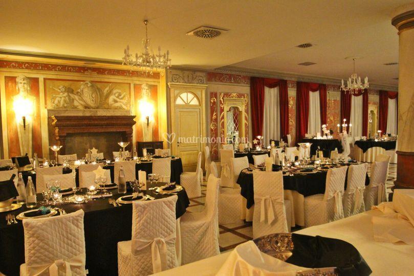 Ristorante villa giulia for Sala degli sposi