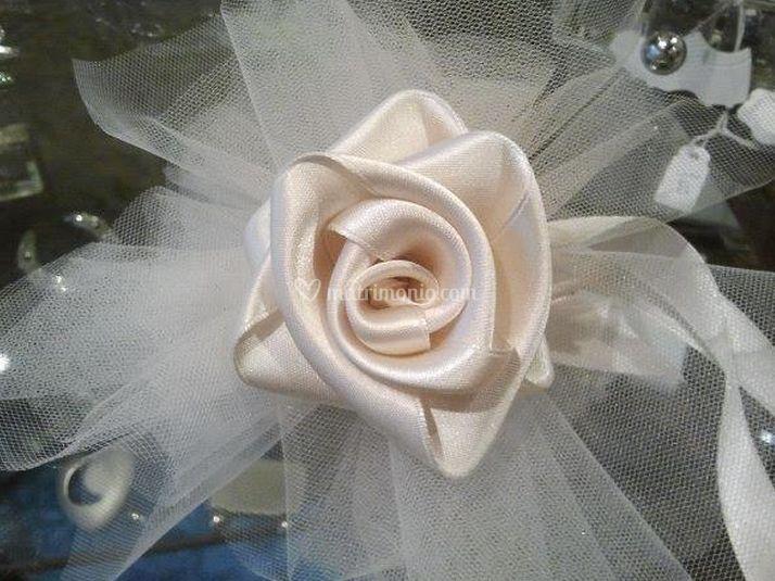 Molto Fiocco tulle e raso di Rosy Bomboniere | Foto 1 SD45