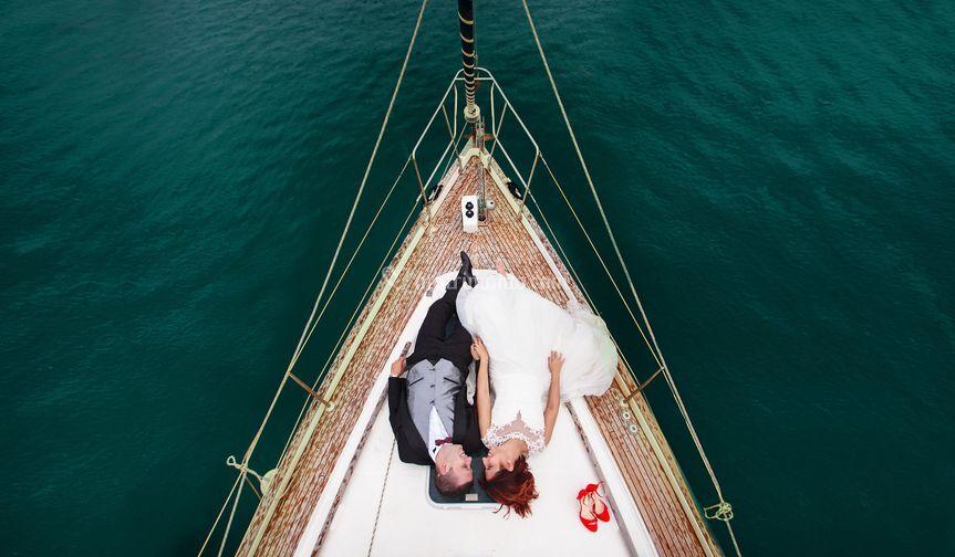 Wedding sailing