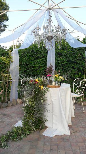 Il tavolo sposi
