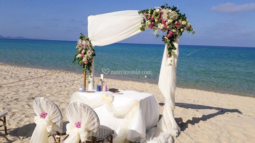Arco in spiaggia