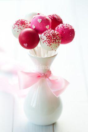 Cake pops con zuccherini