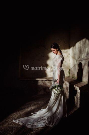 Bride fashion portrait