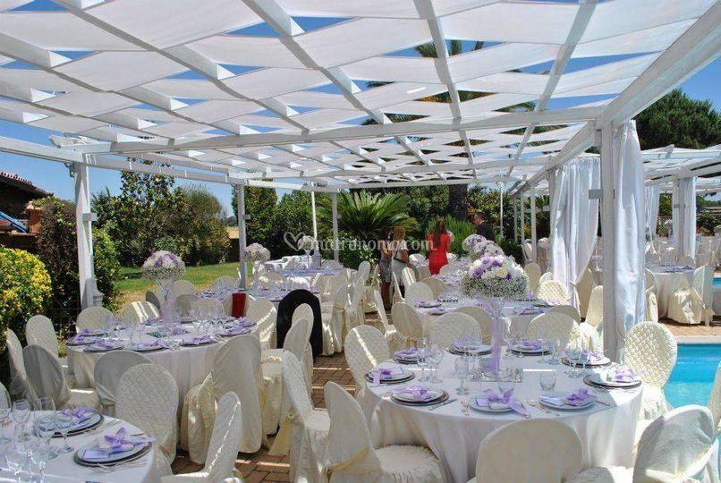 E a eventi for Matrimonio bordo piscina