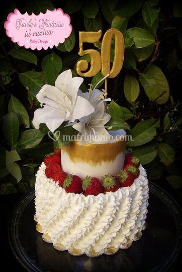 Torta 50 di Jackys Fantasia in Cucina | Foto 57