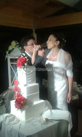 Matrimonio torte rose
