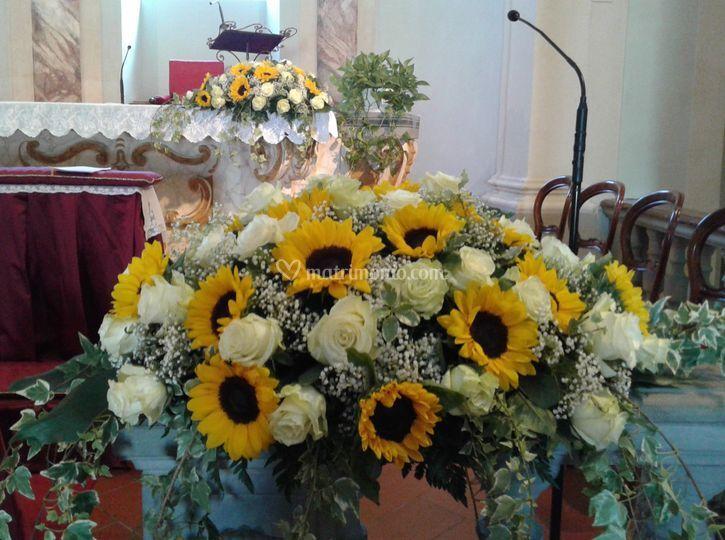 Matrimonio Girasoli E Rose Bianche : I fiori di nadia