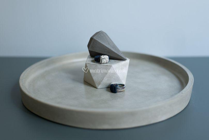 Runde, piatto in cemento