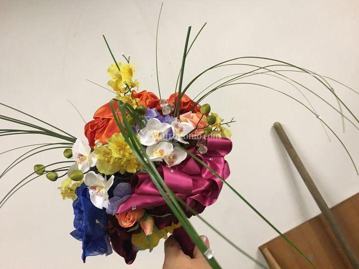 Un  bouquet colorato