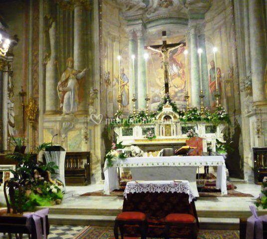 Addobbo chiesa antraccoli
