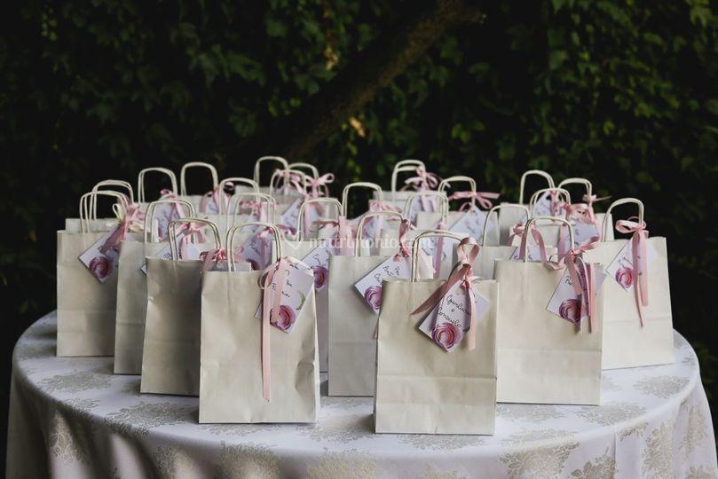 Creazione wedding bag