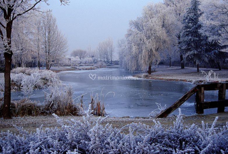 Laghetto in Inverno