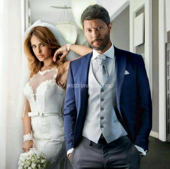 Abito da sposo elegante