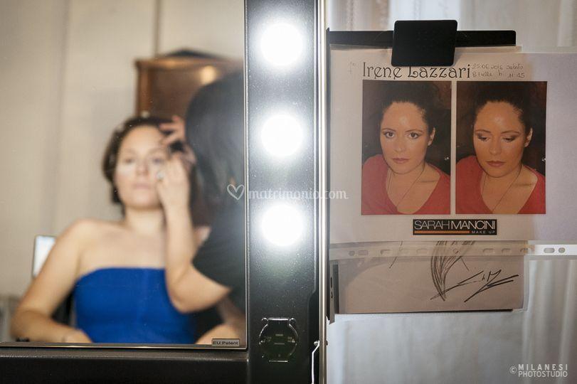 Il backstage della sposa