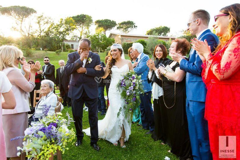 Ingresso sposa, rito civile